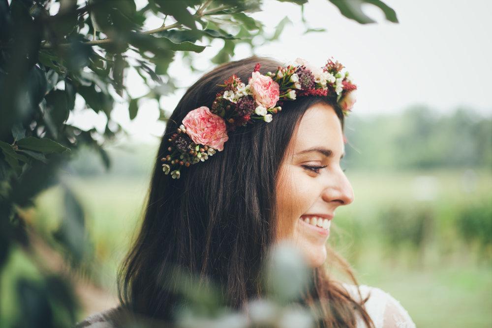sublimer la mariee avec nos accessoires fleuris